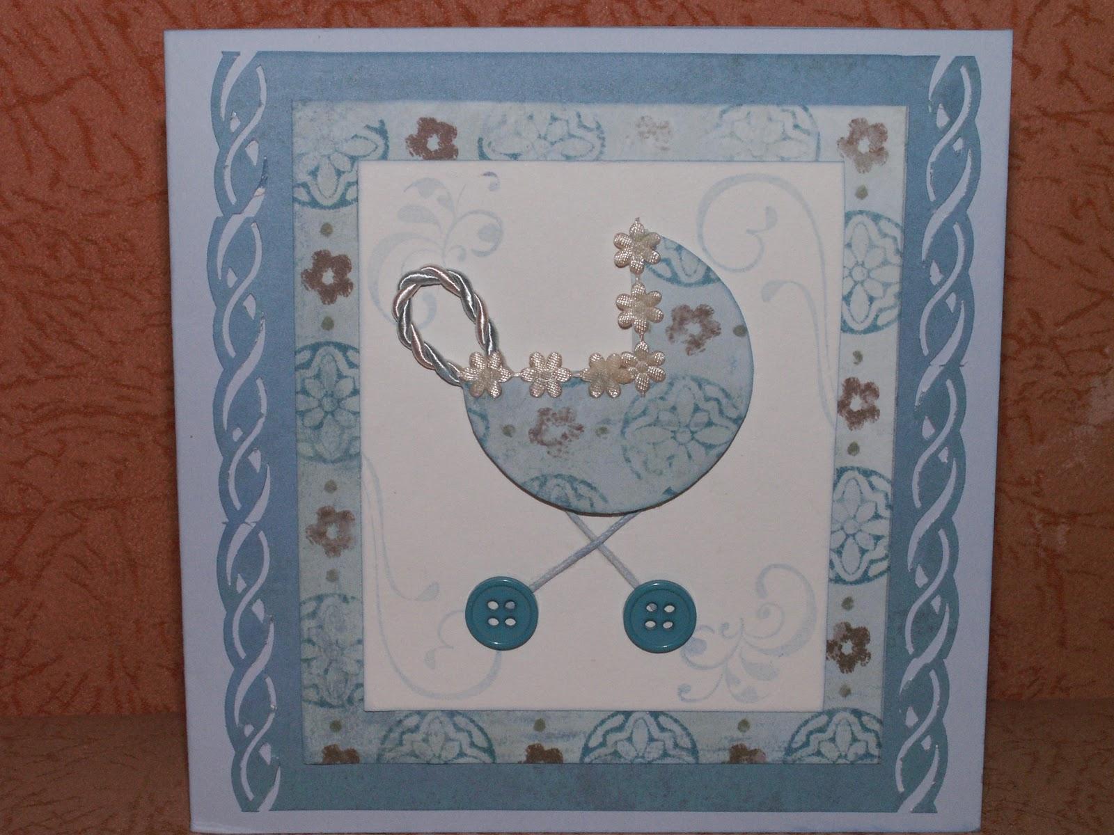 Как сделать открытку С новорожденным своими руками? 29