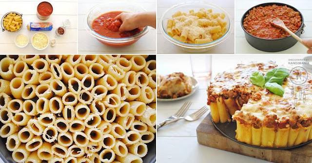 Pasta al forno senza anelletti | pasta cake
