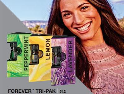 Aromaterapie Forever Tri-Pak