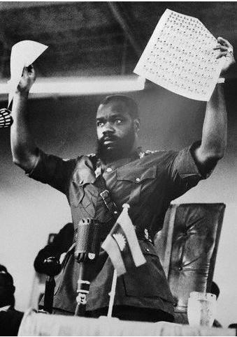Biafran warlord Ojukwu