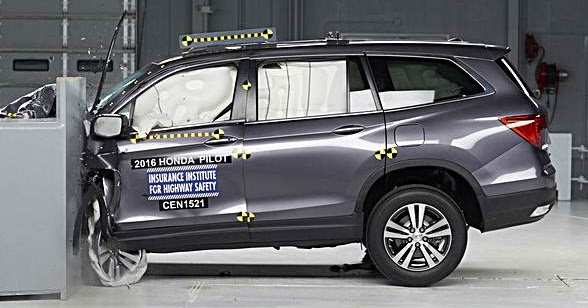 2016 Honda Pilot Earns Top Safety Pick Plus Rating Auto