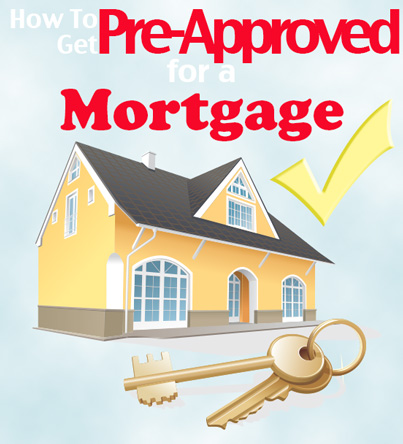 getting preapproved for a mortgage