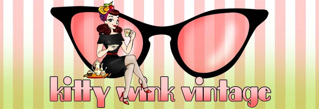 Kitty Wink Vintage
