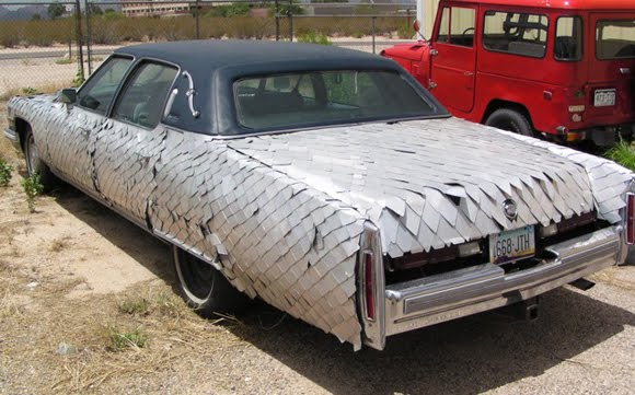 Cadillac Art Car in Arizona - Iron Tarpon needs a home