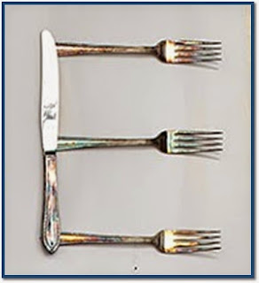 Recycled/Repurposed Cutlery