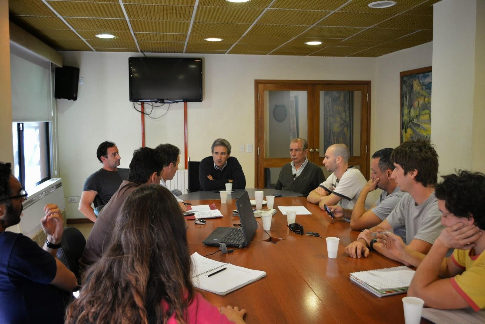 El Intendente Pedro Elizalde se reunió con la Asociación de Guardavidas de Pinamar