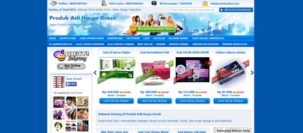 Asligrosir.com Toko Online Harga Grosir Terpercaya