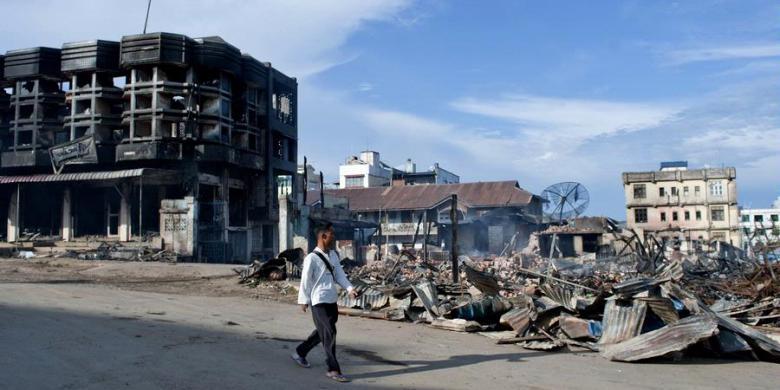 Myanmar Pengunjuk