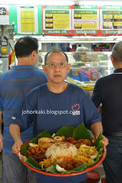 Nasi-Ambeng-Singapore-Bedok-Enak-Stall