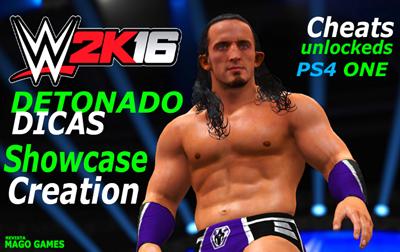 WWE 2K16 - DESTRAVAR PERSONAGENS E DETONADO, CLIQUE AQUI: