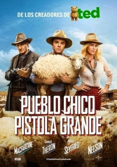ver Pueblo chico Pistola grande / Mil maneras de morder el polvo / Chica de cañones grandes / A Million Ways to Die in the West (2014)