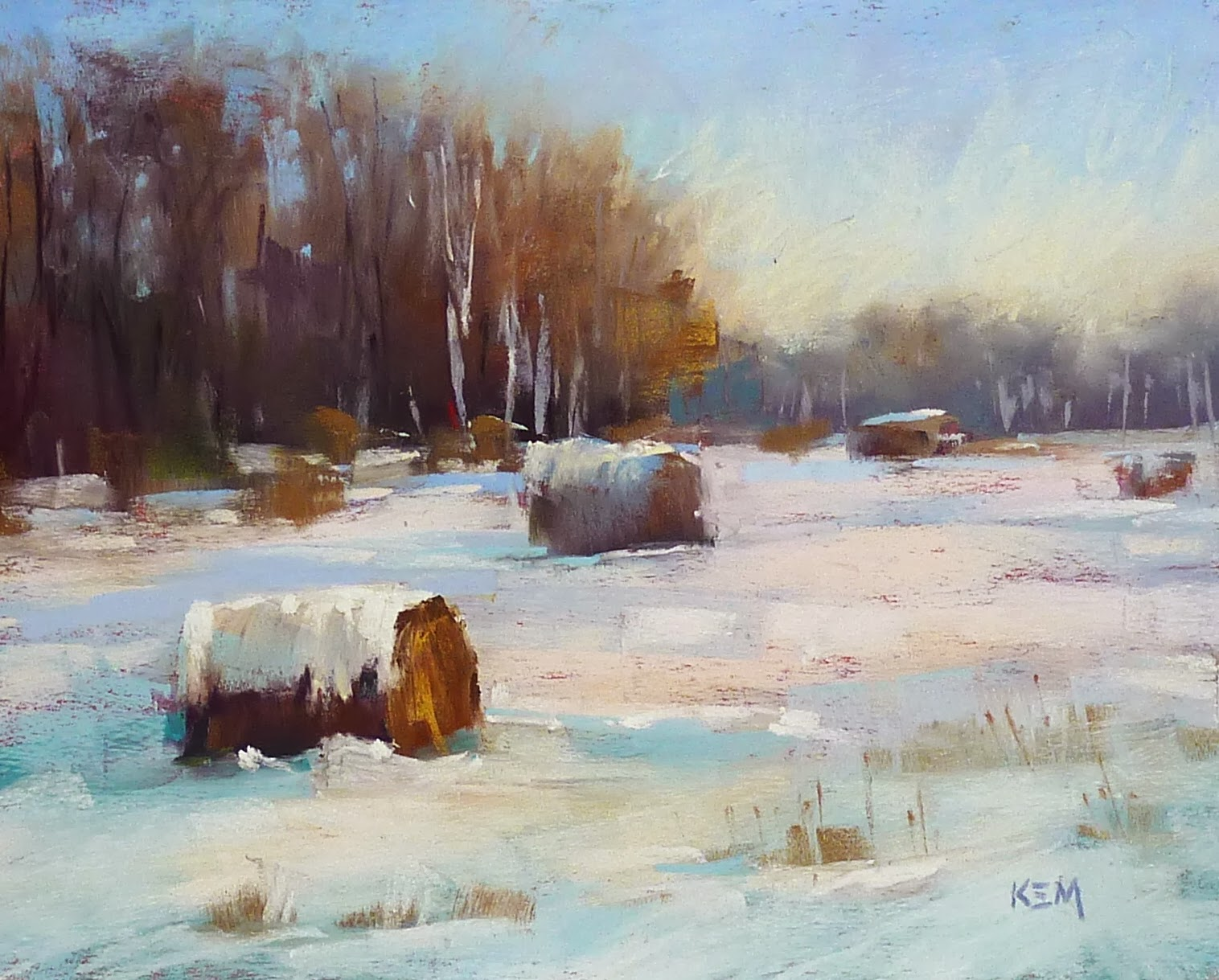 Painting My World How To Paint A Winter LandscapeNew Pastel