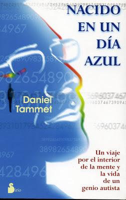 Silueta de la cara de Daniel Tammet junto al título