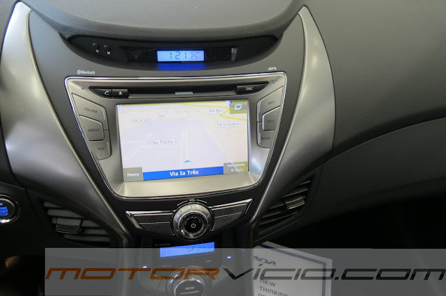 Novo Elantra Flex 2.0 2014 - central multimídia