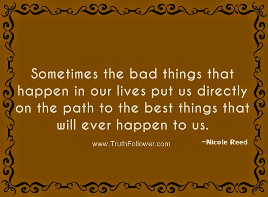 sometimes bad things happen to good people