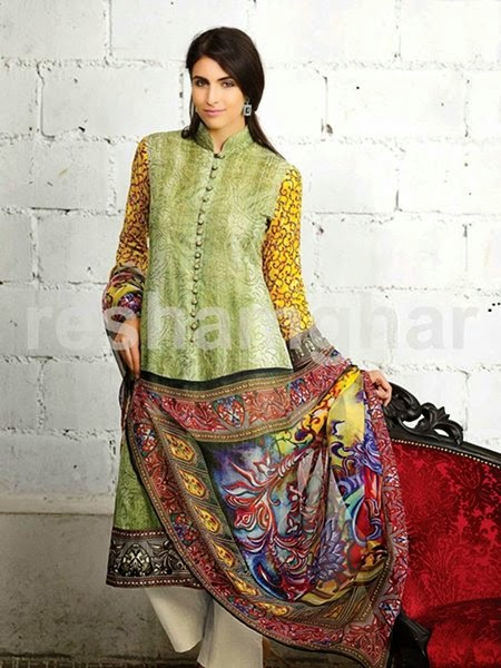 Resham Ghar Summer Collection 2015
