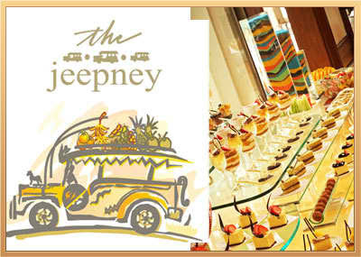 50% Dinner Buffet at Cafe Jeepney eBay coupon offering