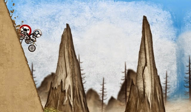 Stickman Downhill android racing game