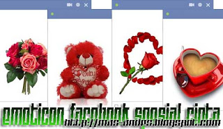 Emoticon Facebook Spesial Cinta