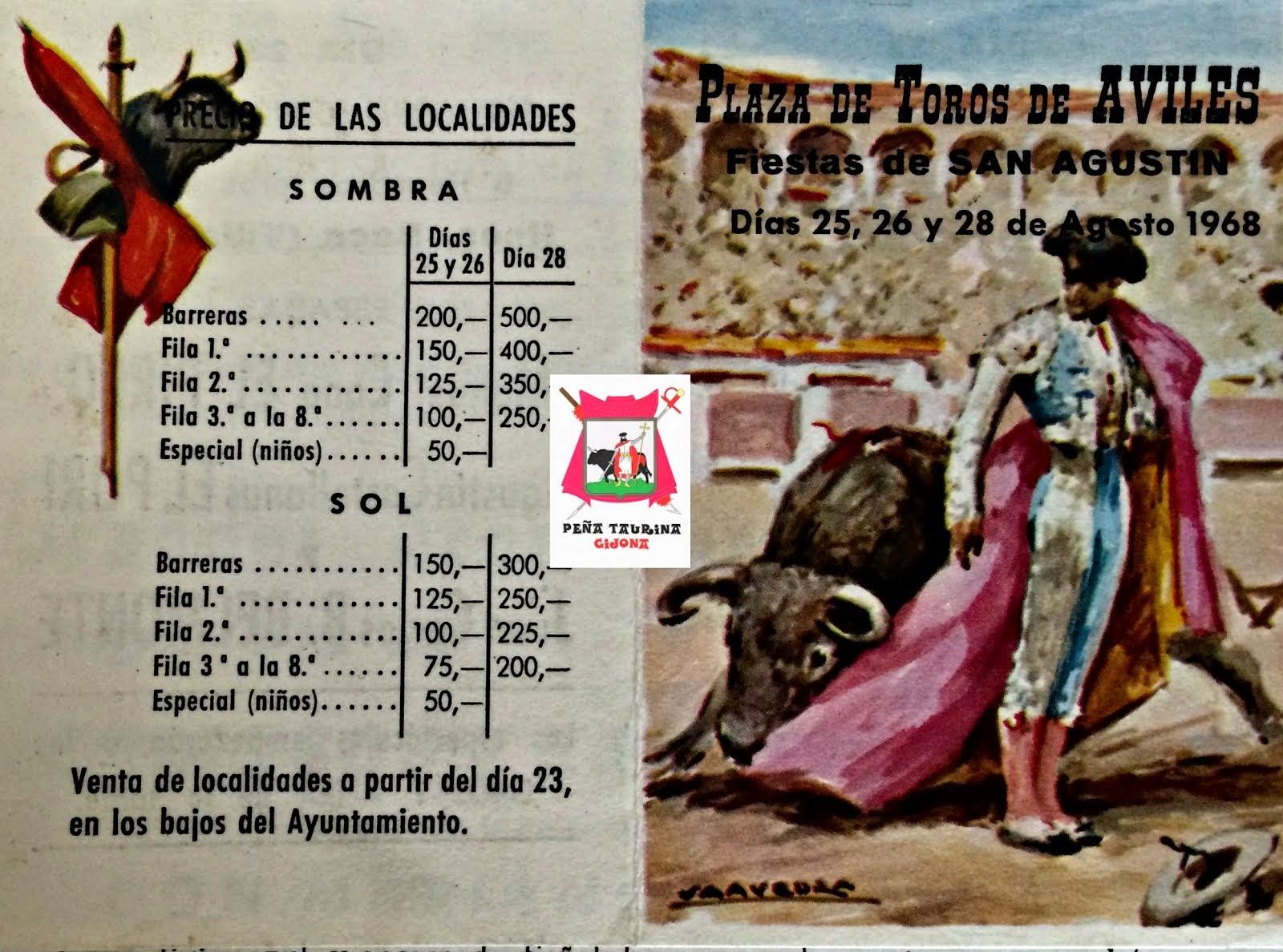 Plaza de toros de avilés Programa