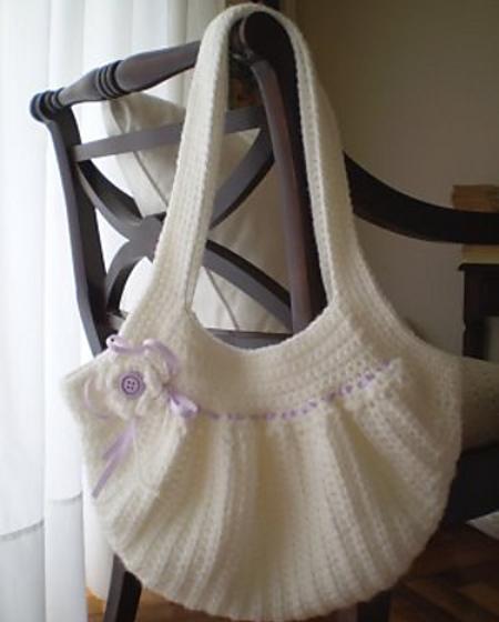 Carteras a crochet con patrones - Imagui