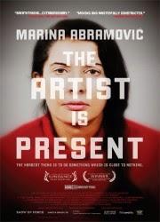 Marina Abramovic la artista esta presente