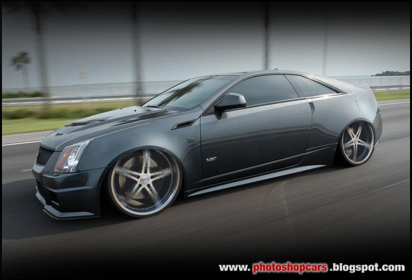 Cadillac CTS Tuning e rebaixado