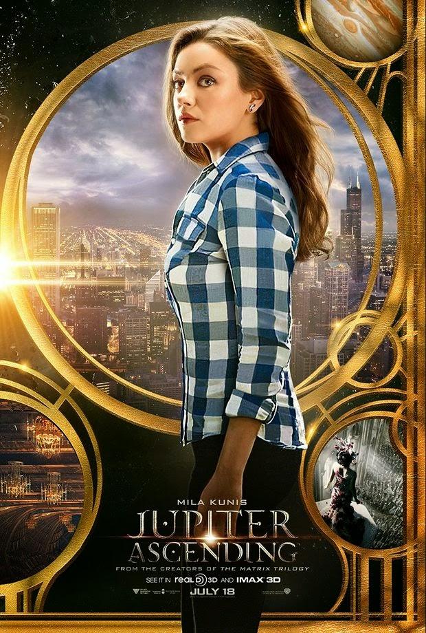 Jupiter Ascending Mila Kunis