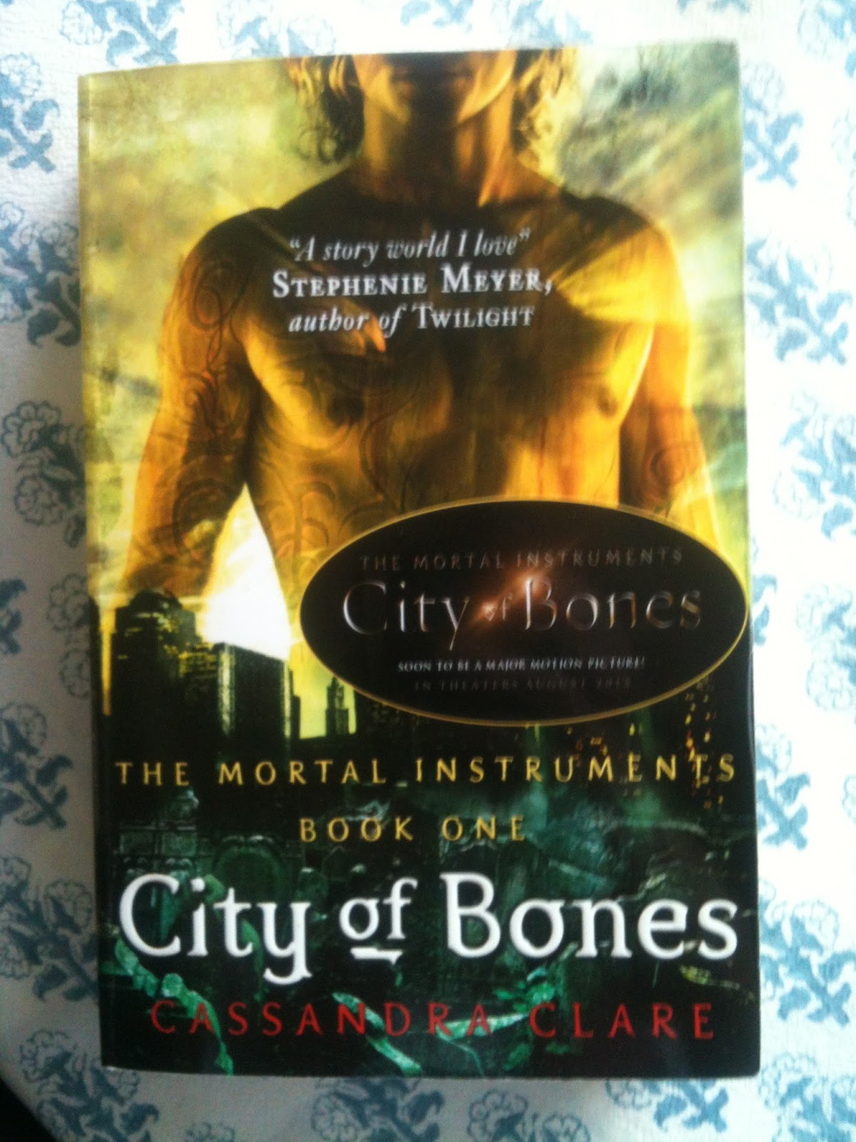 the city of bones book summary Get this from a library the mortal instruments : city of bones : shadowhunter's guide [mimi o'connor cassandra clare] -- presents a guide to the characters.
