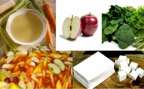 5 Makanan Diet Sehat yang Wajib Anda Tahu,sayur hijau,asinan,apel,kaldu,tahu