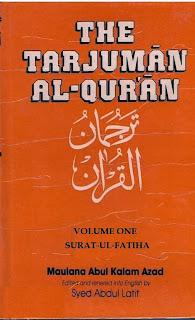 Tarjuman al-Quran By Shaykh Maulana Abul Kalam Azad