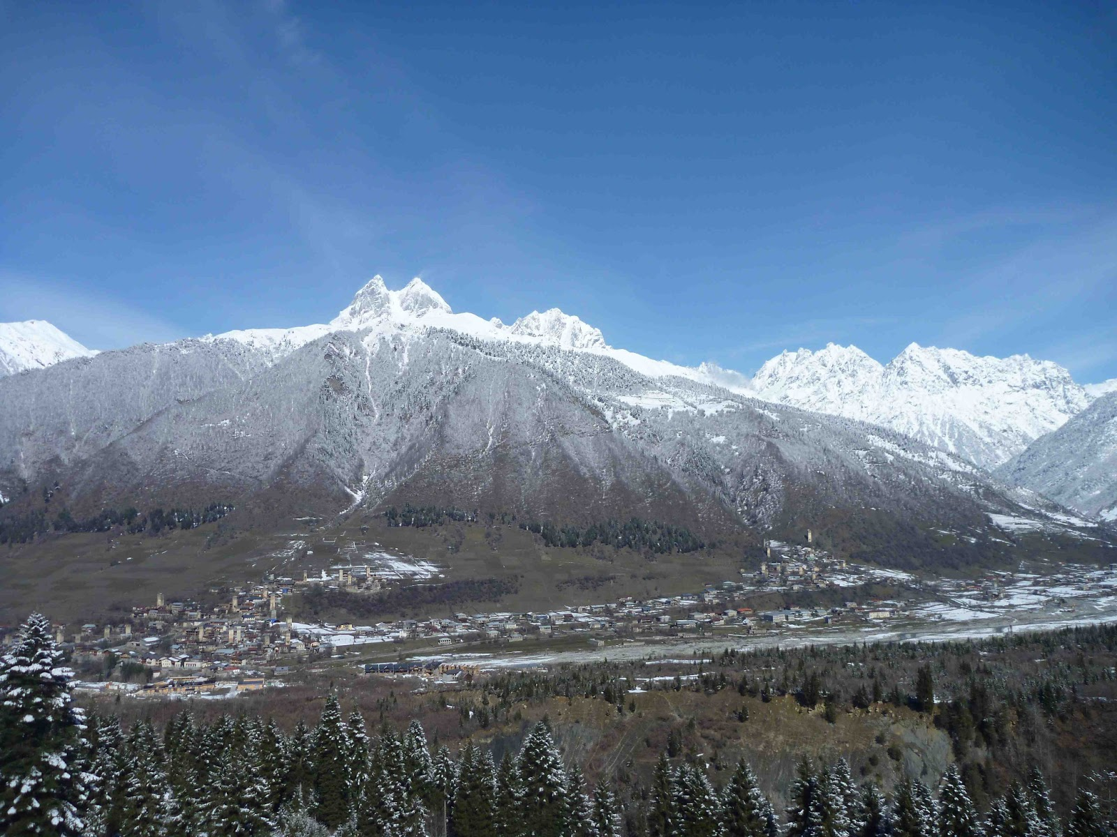 Frontiers of our lives: Big Svaneti Ski Update- Skiing ...