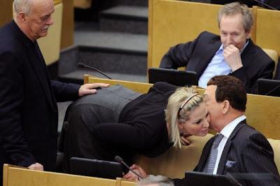 Politiker Arsch