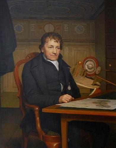 Eise Eisinga by Willem Bartel van der Kooi, 1827