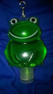 Instant Hand Sanitizer Frog
