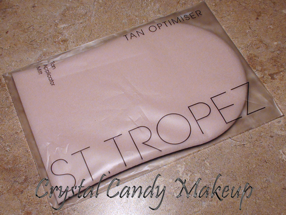 crystal candy makeup blog review and swatches applicator mitt de st tropez. Black Bedroom Furniture Sets. Home Design Ideas
