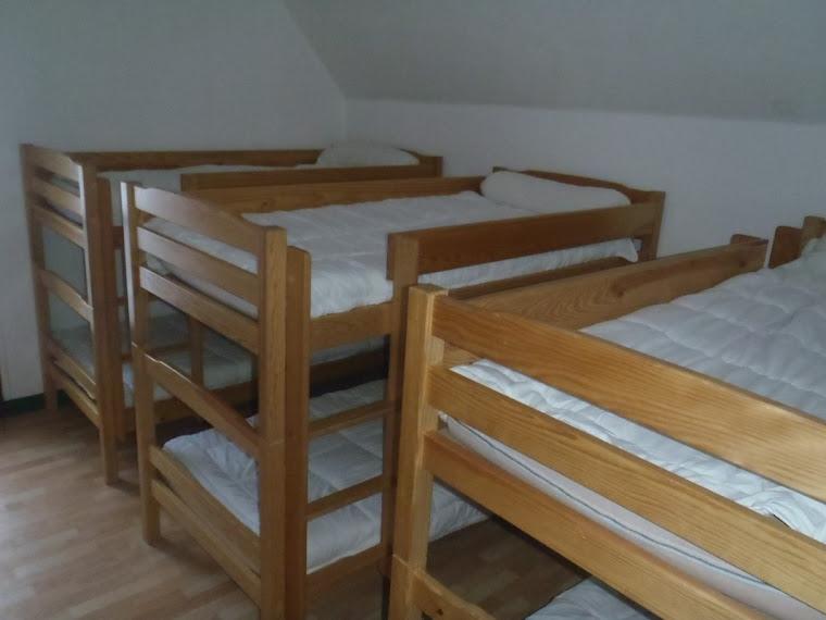 Les chambres et dortoirs