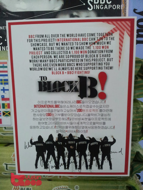 block b showcase korea buletin kpop