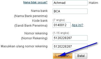 Deposit dari bank lokal