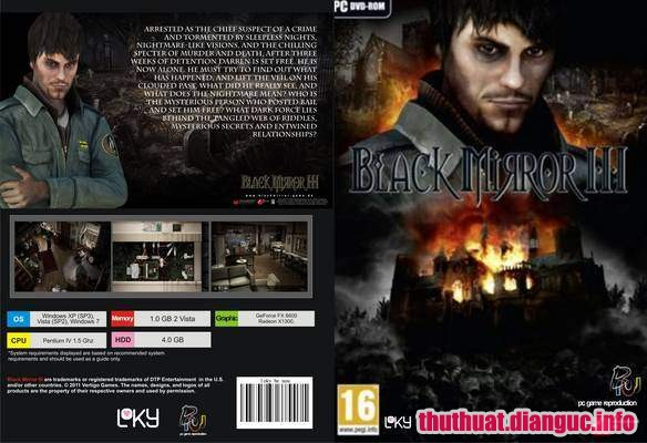 Download Game Black Mirror III Full crack