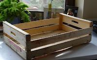 co zrobić z drewnianych skrzynek