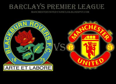 Manchester United v Blackburn Rovers Result Barclays Premier League 2010 2011
