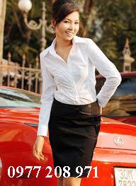 Đồng phục công sở nữ đẹp 2012