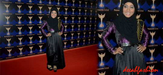 Jilbab ala Fatin Panasonic Gobel Awards 2014