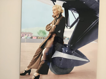 Aviatrix Mary Cox Honored at Airport