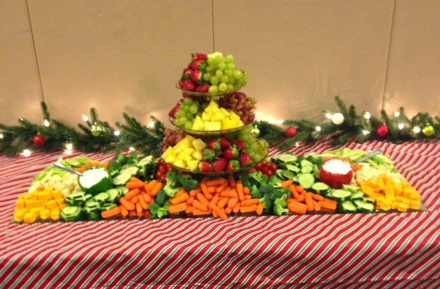 vegetable tray ideas for weddings