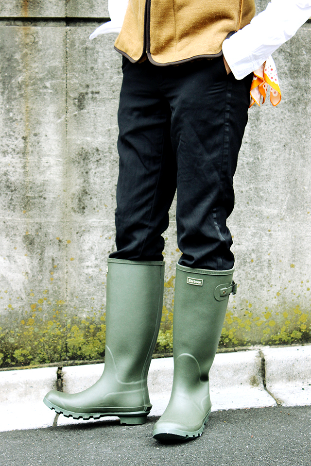 barbourバブアーbedale sl camoビデイル15aw15fwrainbootsrubberboots