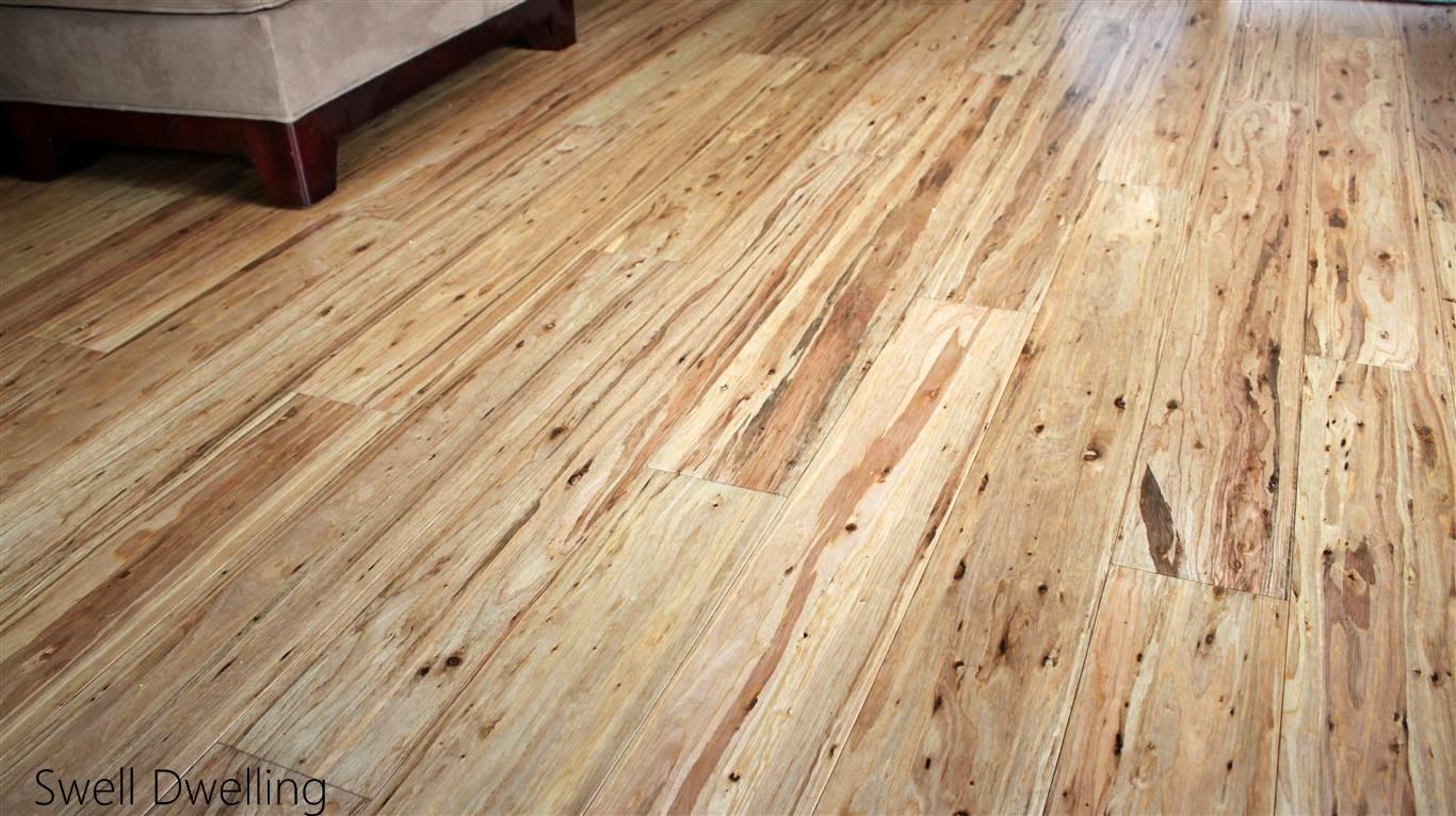 Swell dwelling eucalyptus wood floors for Flor flooring