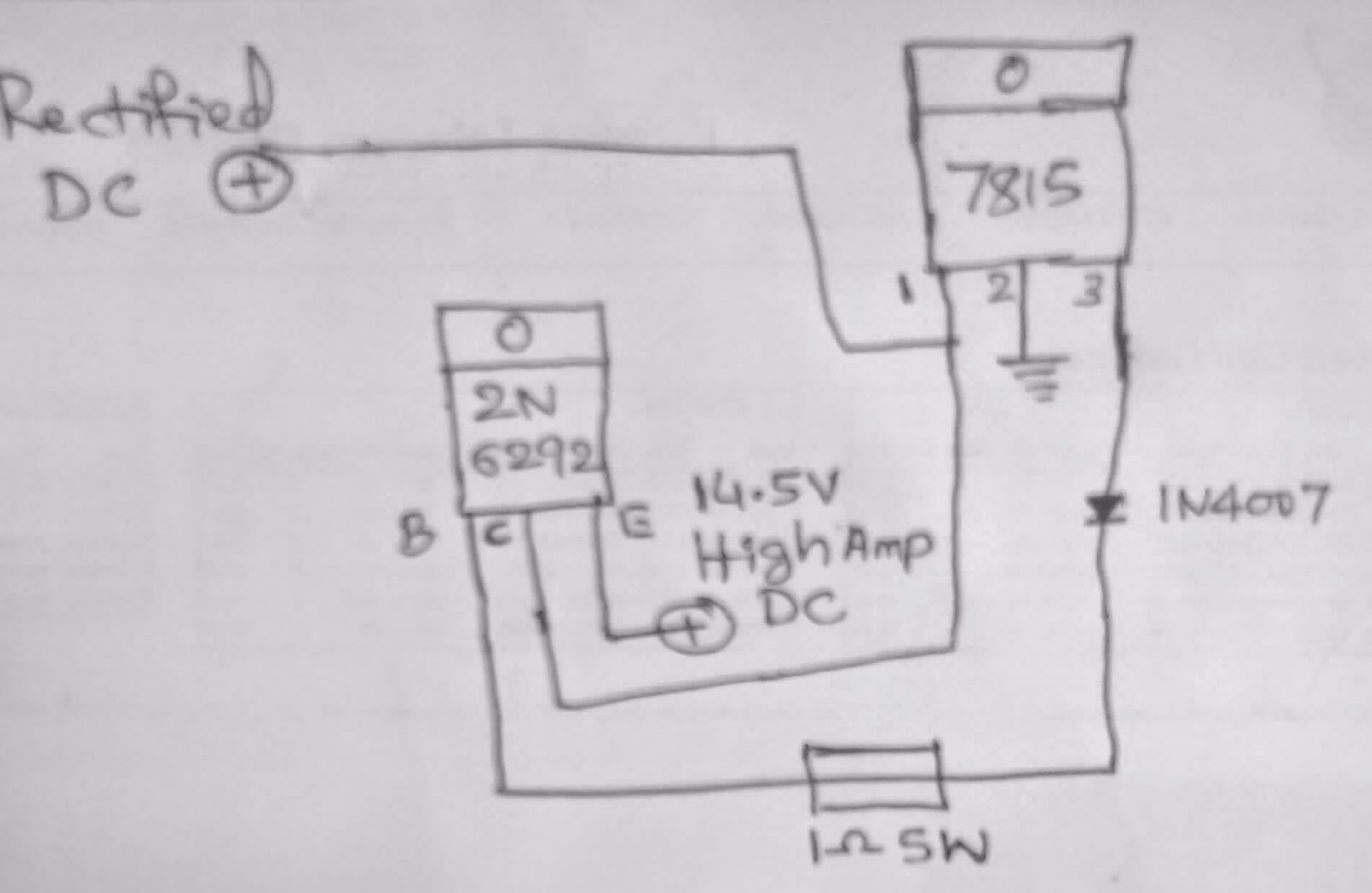 How to Make a High Current Auto Cut Off Battery Charger Circuit Using a Single Transistor