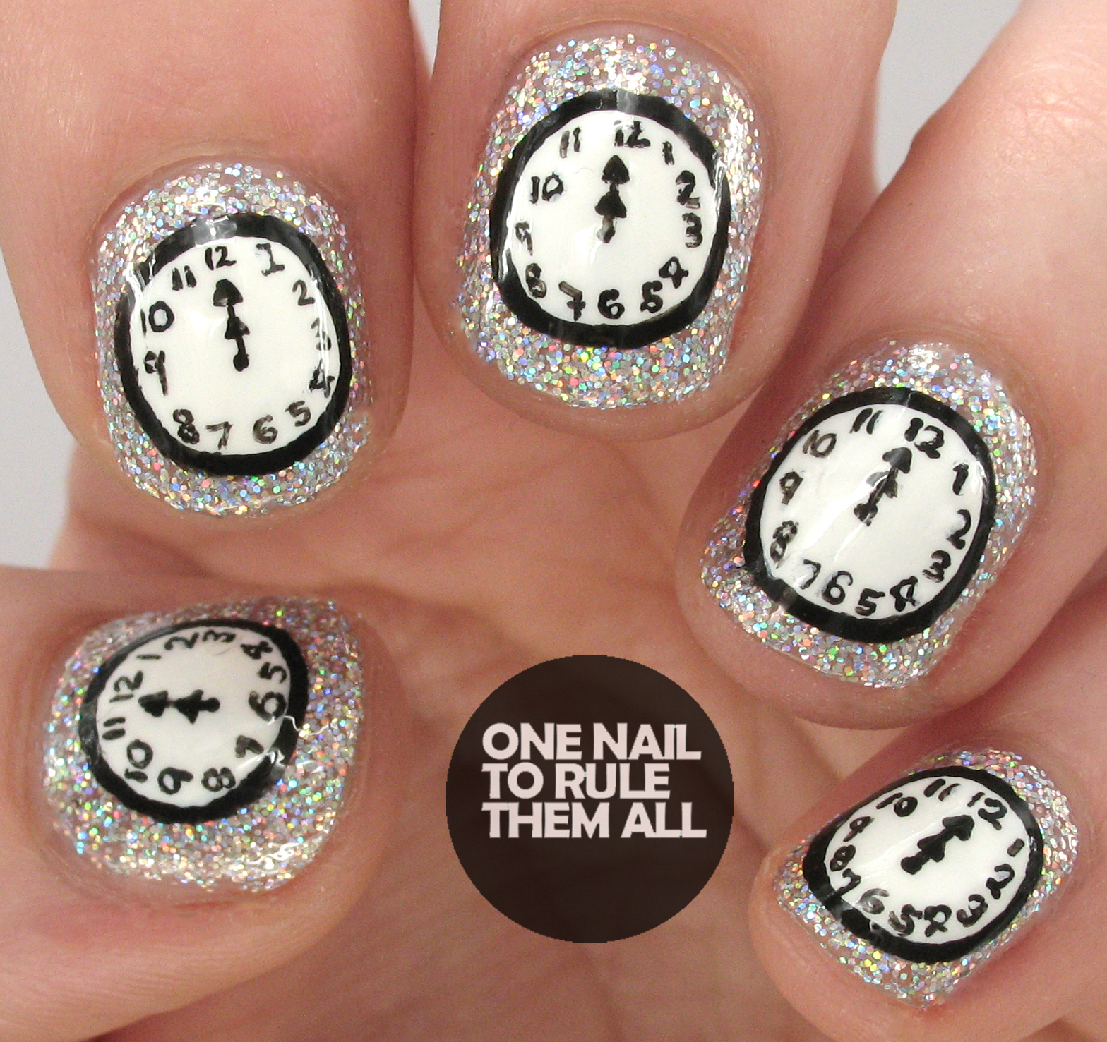 One Nail To Rule Them All: Nailvengers assemble: New Years nail art ...